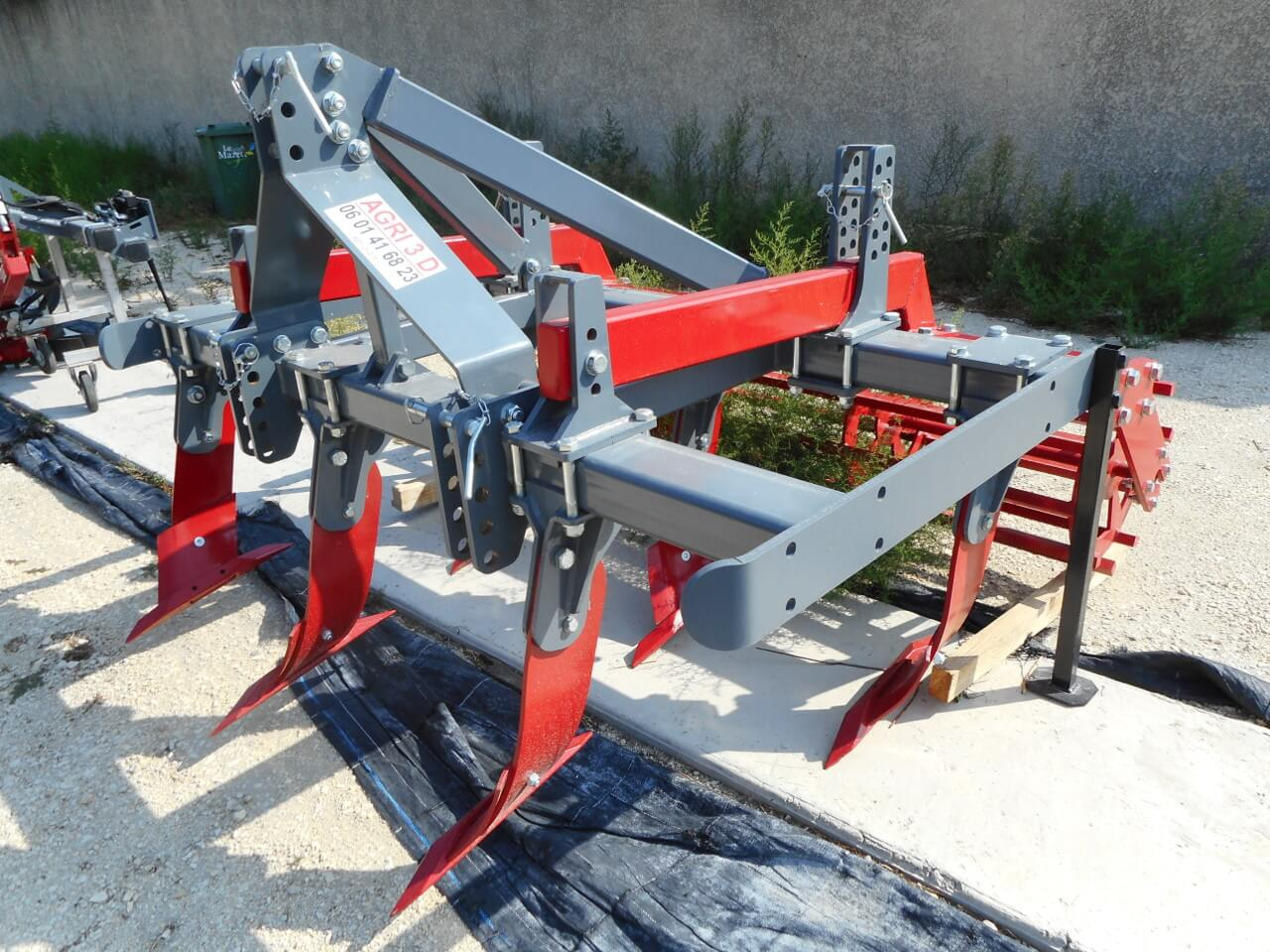 Agri 3d machine agricole